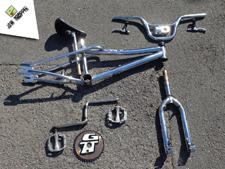 1999 GT Pro Performer Chrome - Jaw Dropper GT BMX Projects