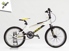 2009 GT Power Series Pro White - Jaw Dropper GT BMX Projects