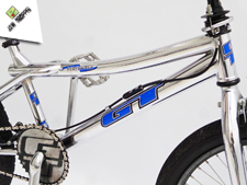 1998 GT Performer Chrome - Jaw Dropper GT BMX Projects