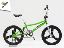 1998 GT Performer Green - Jaw Dropper GT BMX Projects