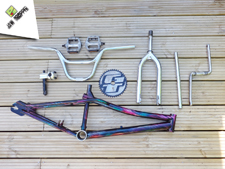 1998 GT Performer Rainbow - Jaw Dropper GT BMX Projects